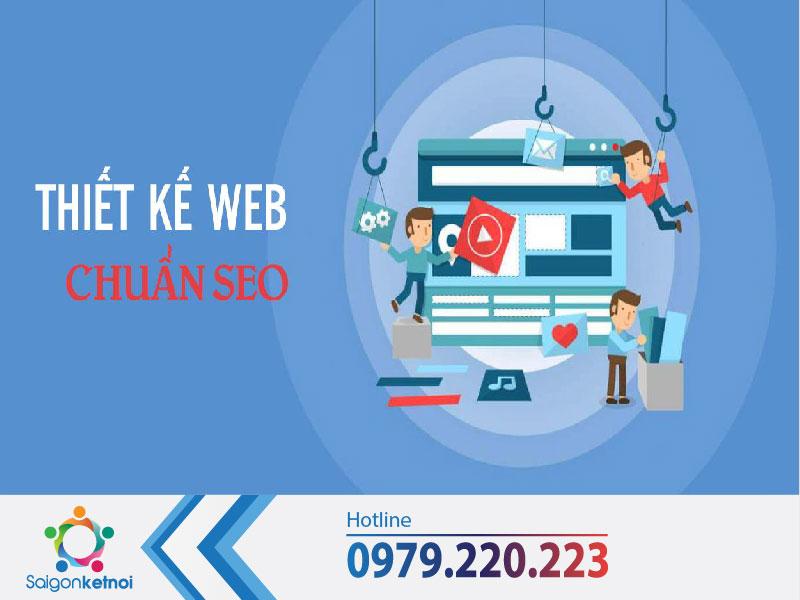 thiết kế website chuẩn seo giá rẻ